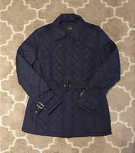 Jaqueta azul escura