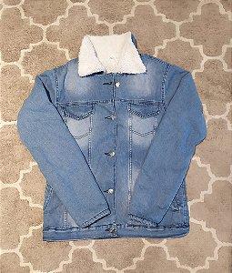 Jaqueta parka jeans Losango