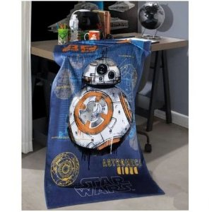 Toalha de Banho Aveludada Star Wars