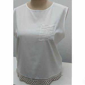 Blusa Plus Size Lemise