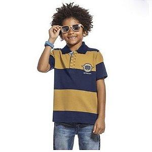 Camisa Polo Manga Curta Alakazoo 45627