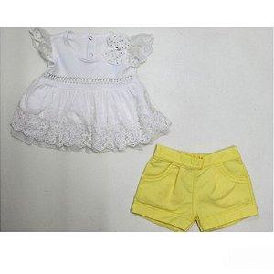 Conjunto 2 peças com Shorts Paraiso 015.5200