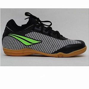 Tênis Chuteira Futsal K Max 200 Locker IX – Preto / Limão