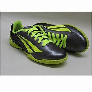 Tênis Chuteira Penalty Futsal K Soccer VII – Chumbo / Amarelo