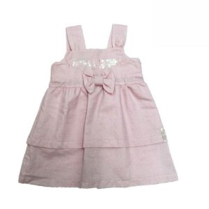 Vestido de Festa Lurex com Top e Paetês Time Kids 3159