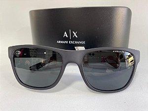 Óculos Solar Preto Armani Exchange