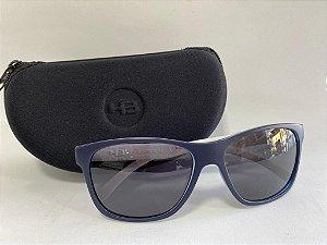 Óculos Solar HB azul e branco