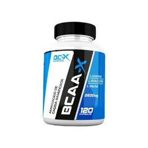 BCAA-X 2600MG (120 CAPS) - DC-X