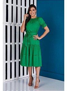Vestido Jessica liso- TATA MARTELO