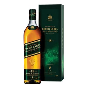 WHISKY GREEN LABEL JOHNNIE WALKER 750ML