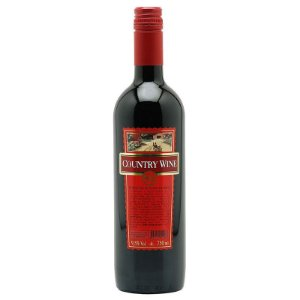 VINHO TINTO SUAVE COUNTRY WINE 750ML