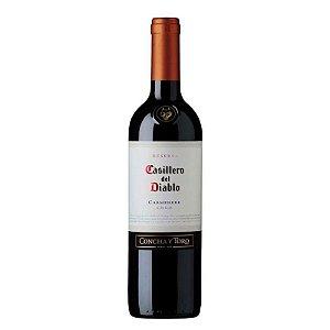 VINHO CARMENERE CASILLERO DEL DIABLO 750ML