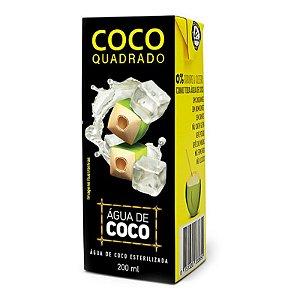 AGUA DE COCO QUADRADO 200ML