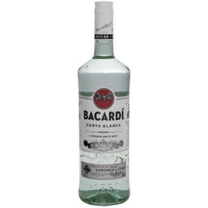 RUM BACARDI CARTA BRANCA 980ML