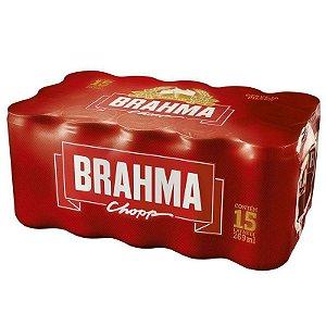 CERVEJA BRAHMA LATA 269ML FARDO COM 15 UN