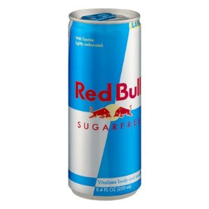 ENERGETICO RED BULL SUGAR FREE LATA 250ML