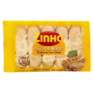 PAO DE ALHO TRADICIONAL ZINHO 300G