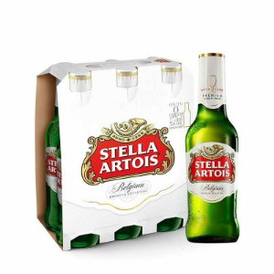 CERVEJA STELLA ARTOIS LONG NECK 275ML C/ 6UN