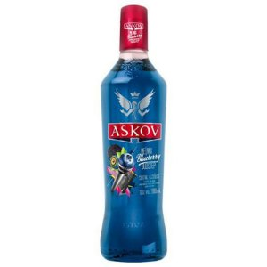VODKA ASKOV BLUEBERRY 900ML