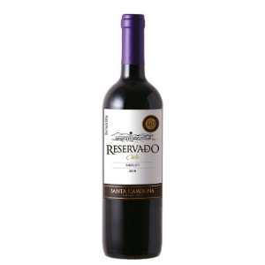 VINHO MERLOT SANTA CAROLINA 750ML