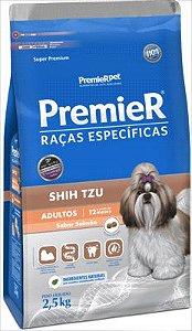 Premier Pet Cães Adultos Shih Tzu Sabor Salmão 2,5 Kg
