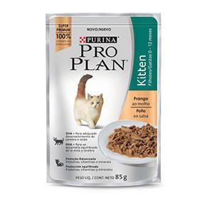Petiscos Pro Plan para Gatos Filhotes Kitten Frango - 85g