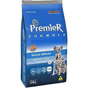 Premier Pet Formula Frango Cães Adultos Raças Médias 20 Kg