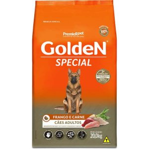 Golden Special Cães Adultos Frango e Carne 20Kg