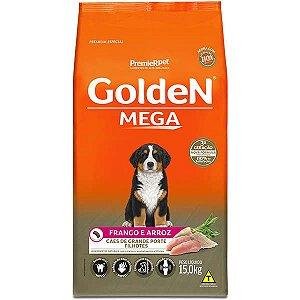 Golden Mega Cães Filhotes Frango e Arroz 15Kg