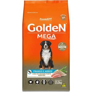 Golden Mega Adultos Frango e Arroz 15Kg
