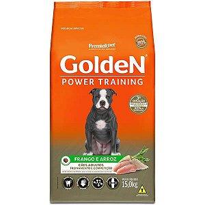 Golden Power Cães Adultos Training Frango e Arroz 15Kg