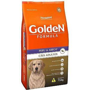 Golden Formula Cães Adulto Peru e Arroz 15Kg