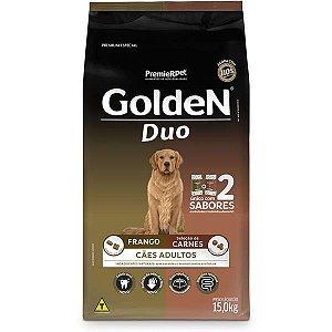 Golden Formula Cães Adulto Duo Frango e Carne 15Kg
