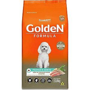 Golden Formula Cães Adulto Frango Mini Bits 15Kg