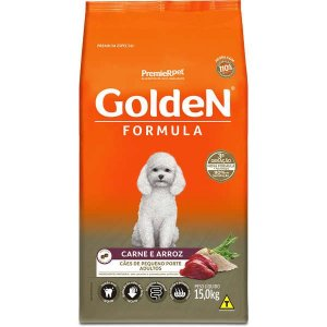 Golden Formula Cães Adulto Carne Mini Bits 15Kg