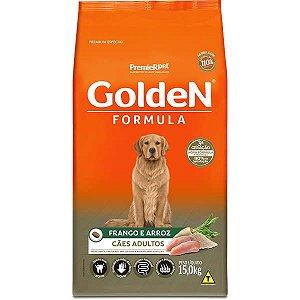 Golden Formula Cães Adulto Frango 15Kg