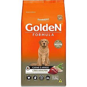 Golden Formula Cães Adulto Carne 15Kg