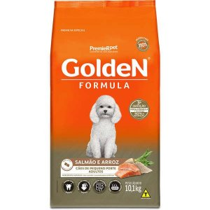 Golden Formula Cães Adulto Salmão Mini Bits 10Kg