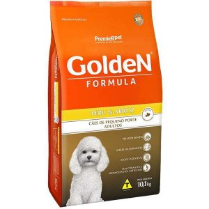 Golden Formula Cães Adulto Peru Mini Bits 10Kg