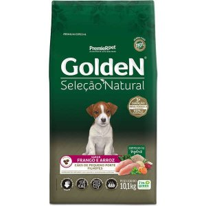 Golden Seleção Natural Cães Filhote Mini Bits 10Kg