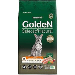 Golden Seleção Natural Gatos Adultos 10kg
