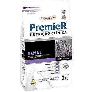 Premier Nutrição Clínica para Cães Renal 2 Kg