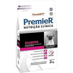 Premier Pet Nutrição Clínica Diabetes para Cães Adultos Pequeno Porte 2 Kg