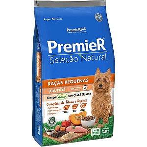 Premier Pet Seleção Natural Frango Korin com Chia & Quinoa Cães Adultos Raças Pequenas 10,1 Kg