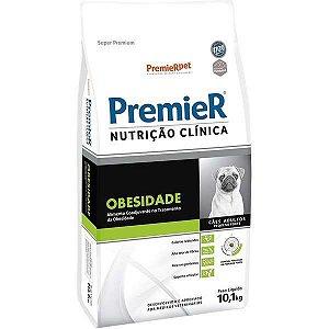 Premier Nutrição Clínica Obesidade para Cães Adultos Pequeno Porte 10,1 Kg