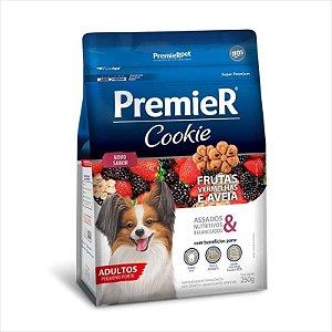 Premier Pet Cookie Frutas Vermelhas e Aveia para Cães Adultos 250g