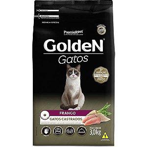 Golden Formula Gatos Castrado Frango 3kg