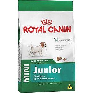 Royal Canin Mini Junior para Cães Filhotes de Raças Pequenas de 2 a 10 Meses de Idade 1KG