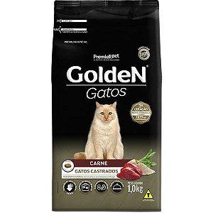 Golden Formula Gatos Castrado Carne 1Kg