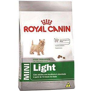 Royal Canin Mini Light para Cães Adultos de Raças Pequenas com Tendência a Obesidade 7,5KG